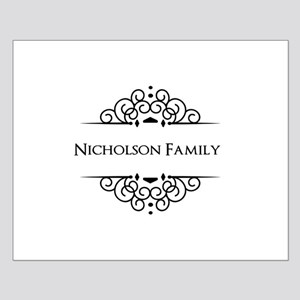 Personalized family name Poster Design