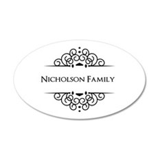 Personalized family name Wall Sticker