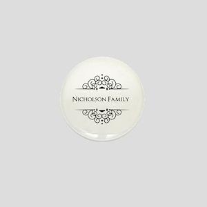 Personalized family name Mini Button