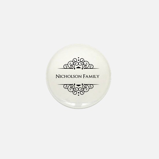 Personalized family name Mini Button