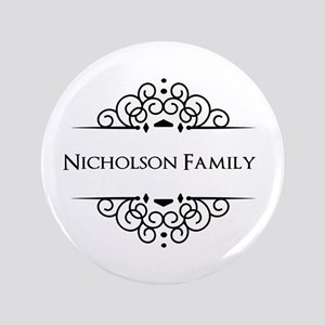 """Personalized family name 3.5"""" Button"""