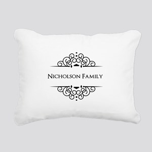 Personalized family name Rectangular Canvas Pillow