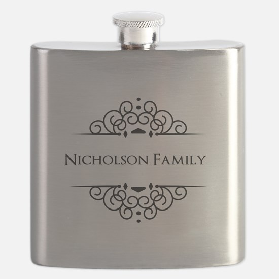 Personalized family name Flask