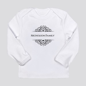 Personalized family name Long Sleeve T-Shirt