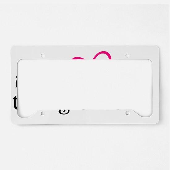 Have TwiMom2 B License Plate Holder