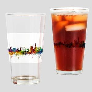 London England Skyline Drinking Glass