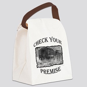 check your premise2 Canvas Lunch Bag