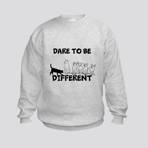 Dare to be different cats Sweatshirt