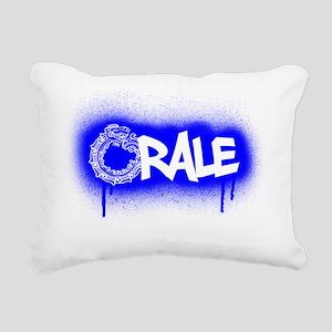 aztec orale Rectangular Canvas Pillow