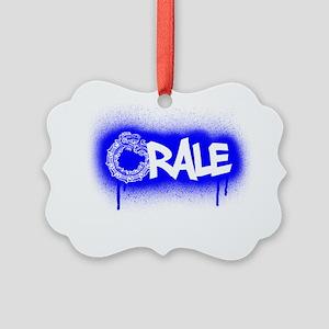 aztec orale Picture Ornament
