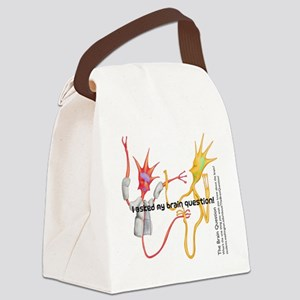 questionnew Canvas Lunch Bag