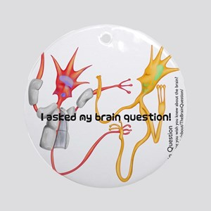 questionnew Round Ornament