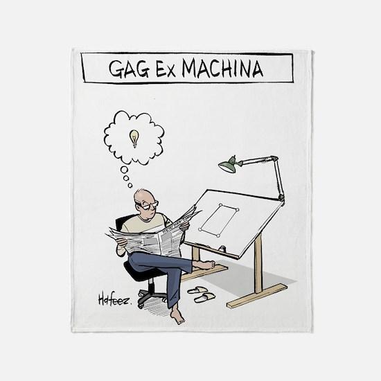 Gag ex Machina Logo Throw Blanket
