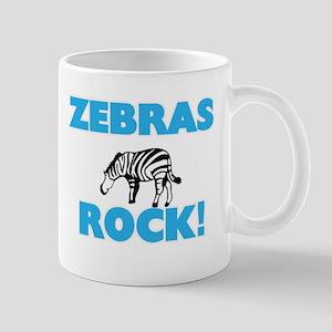 Zebras rock! Mugs