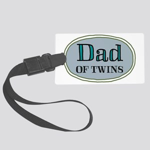 DadSKITCHdesign3 Large Luggage Tag