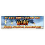 Help Reduce Emissions Bumper Sticker