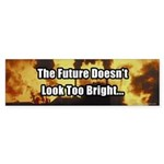 A Bright Future Bumper Sticker