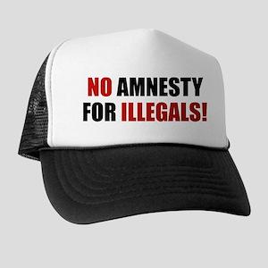 No Amnesty for Illegals Trucker Hat