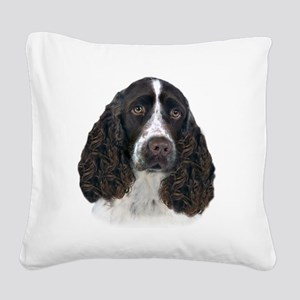 English Springer Spaniel Port Square Canvas Pillow