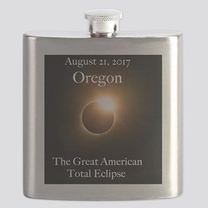Diamond Ring in Oregon Flask