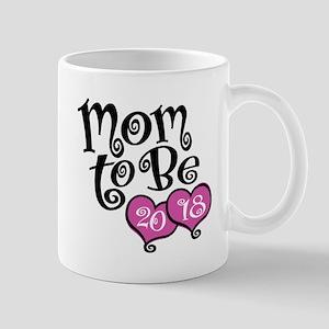 Mom To Be 2018 11 oz Ceramic Mug