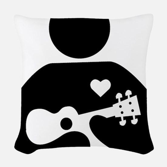 uke company Woven Throw Pillow