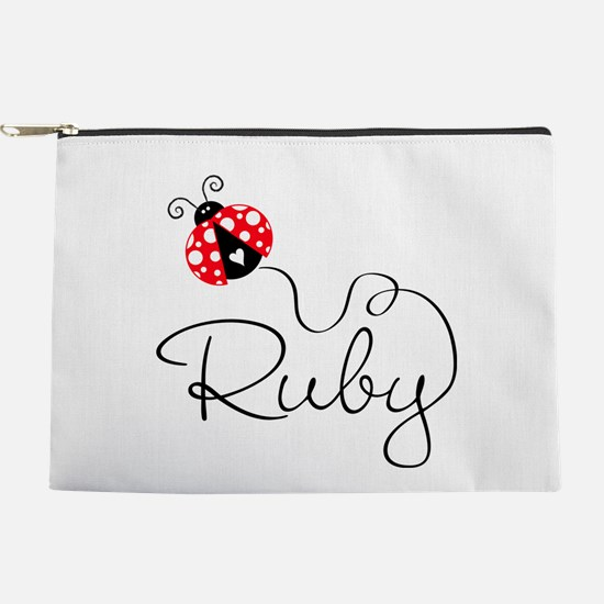 Ladybug Ruby Makeup Pouch
