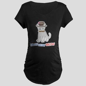 Mittens-D1-iPad2Case Maternity Dark T-Shirt