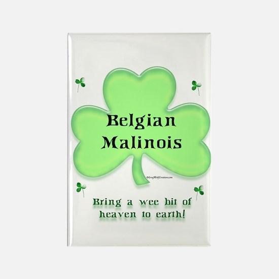 Malinois Heaven Rectangle Magnet