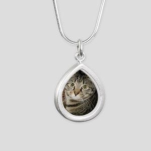 annie 5.13.11 Silver Teardrop Necklace