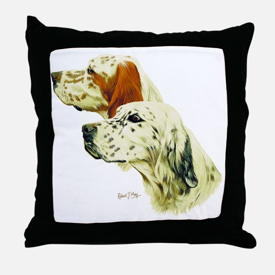 Eng setter Multi Throw Pillow