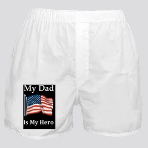 fathers day my dad is my herod Boxer Shorts