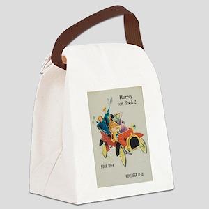 1961 Children's Book Week Canvas Lunch Bag