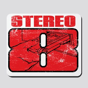 Stereo8_distress Mousepad