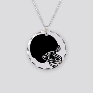 RHSFootball006 Necklace Circle Charm