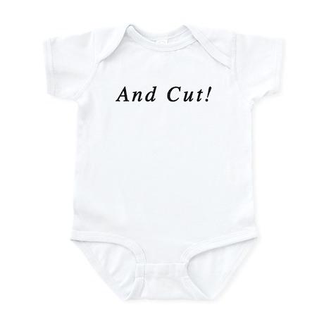 And Cut! Infant Bodysuit