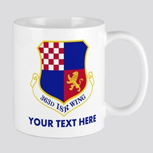 Personalized USAF 363D ISR Wing 11 oz Ceramic Mug