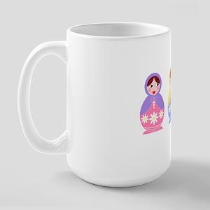 3 Matryoshka Large Mug