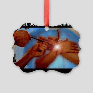 STJOAN1 Picture Ornament