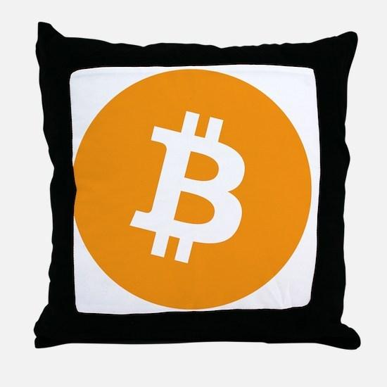 Bitcoin1 Throw Pillow