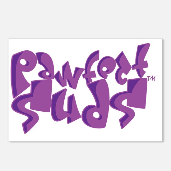 Pawfect_Suds Postcards (Package of 8)