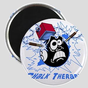 Chalk Therapy (dark shirt) Magnet