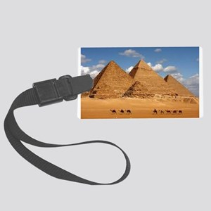 Pyramids of Egypt Luggage Tag