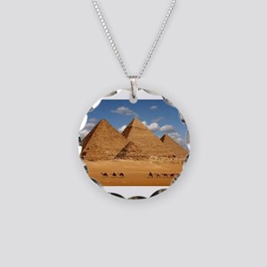 Pyramids of Egypt Necklace