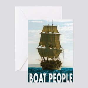 Boat_people Greeting Card