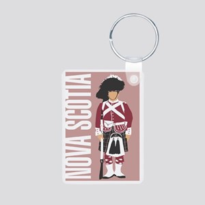 canada Aluminum Photo Keychain