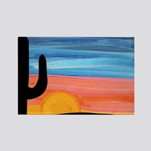 sunset_painting Rectangle Magnet