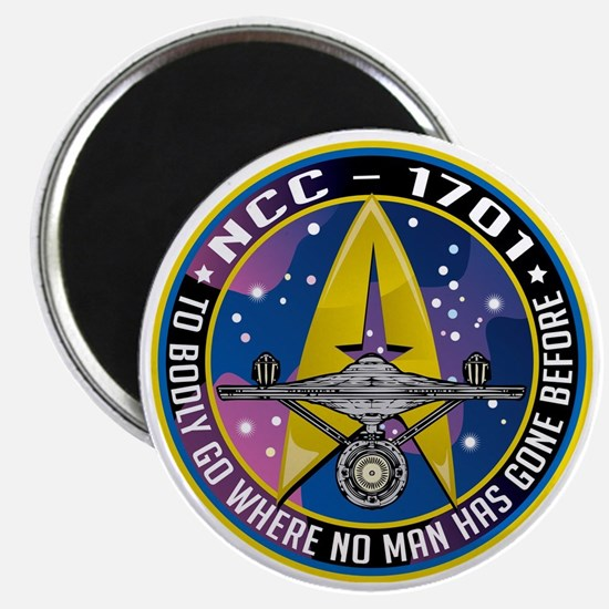 Enterprise-Patch-To-Bodly-Go Magnet