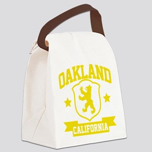oakland03 Canvas Lunch Bag