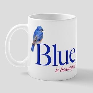 blue is beautiful Mug